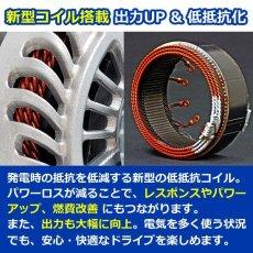 画像4: メルセデス・ベンツ W123(ガソリン車) 低抵抗・高出力 オルタネーター 110A [A-AC010] (4)
